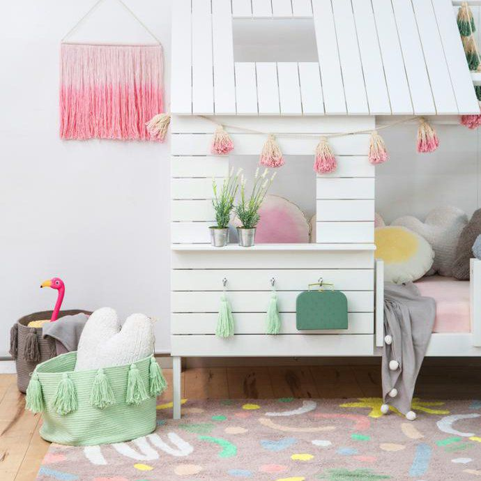 Tapete Lorena Canals Oh Joy Confetti - 1.40 x 2.00 m