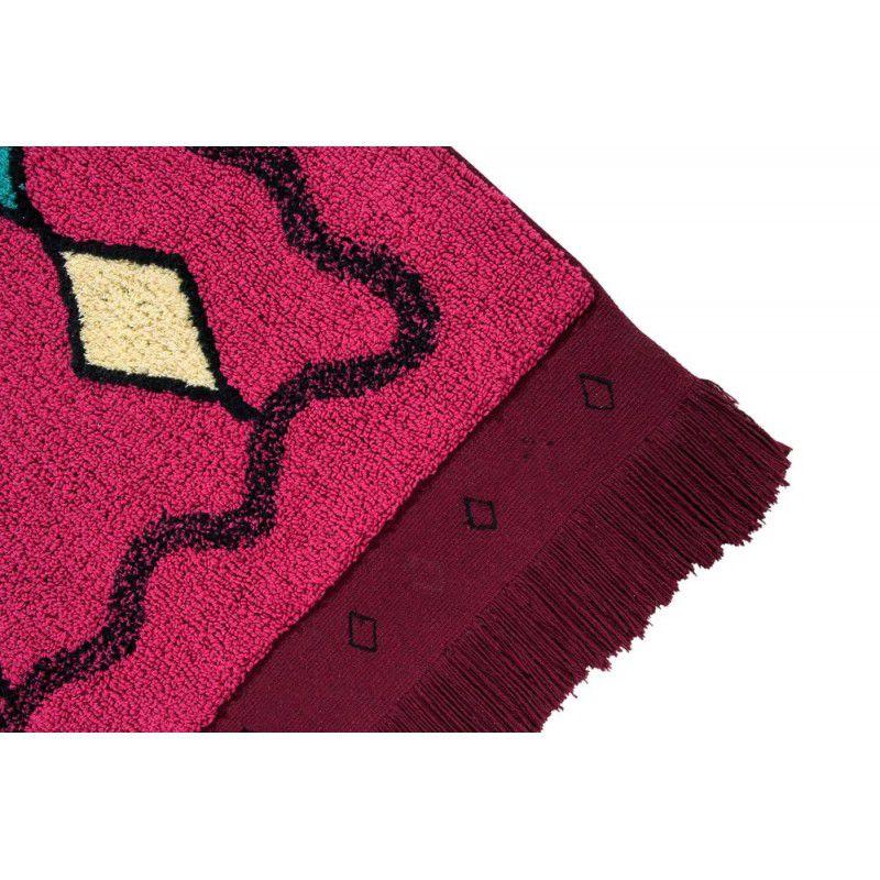 Tapete Lorena Canals Morrocco Rosa Escuro- Assa