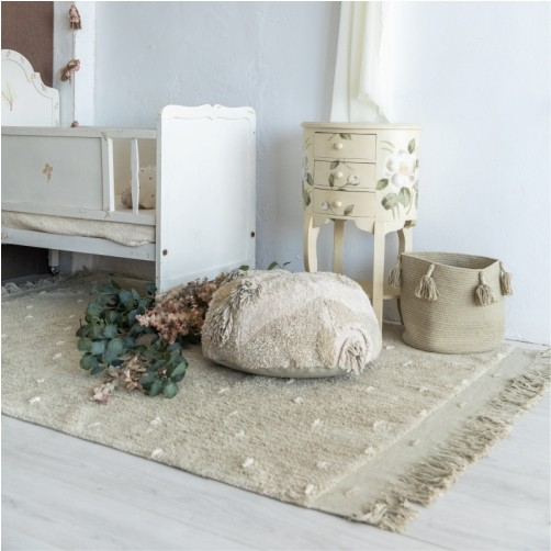 Tapete Lorena Canals Symphony Verde Olive - 1.40 x 2.00 m