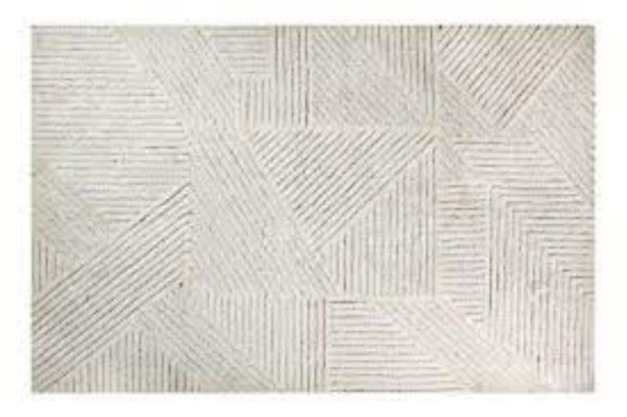 Tapete Lorena Canals Woolable em Lã Almond Valley 240 x 170 cm