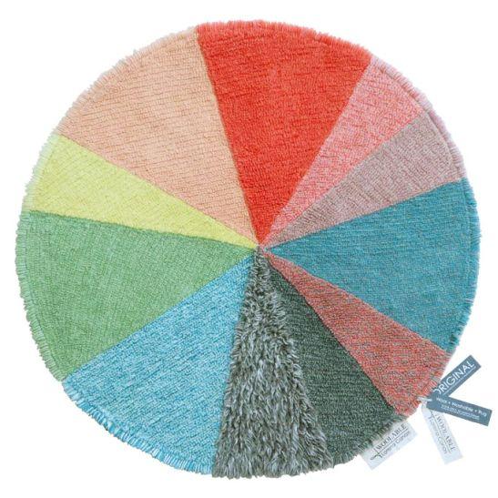Tapete Lorena Canals Woolable em Lã Pie Chart - 120 cm