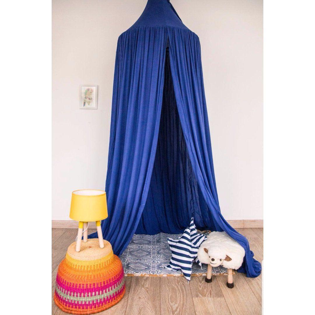 Tenda de Teto em Viscose - Azul Royal