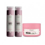 Shampoos Hidratante Argilotherapy 2 e Máscara Capilar Argilotherapy Tratamento de Alta performance 250g  All Nature