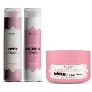 Máscara Capilar Argilotherapy 250g + Shampoo Argilotherapy e Condicionador 300ml All Nature