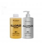 All.o.plex Blocker + Crosslink Bloqueador de Danos Nas Descolorações Mechas, Luzes, Colorações e Demais Químicas - All Nature