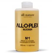 Alloplex Blocker Bloqueador de Danos Nas Descolorações Mechas e Colorações - Passo 1 350ml All Nature