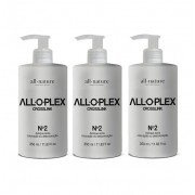 Alo.plex Crosslink Passo 2, Hidratação Pós Coloração, Descoloração e Manutenção Semanal - All Nature