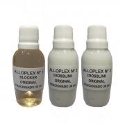 Ampolas Alloplex Blocker All Nature Bloqueador de Danos Nas Colorações Descolorações e Mechas - Fracionado - 1 nº1 30ml + 2 nº2 30ml
