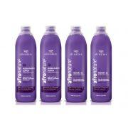 Ativador De Cachos Hidratante Super e ou Hidrat 22 Leave In Creme de Pentear All Nature 1000ml - 4 Unidades a Escolher