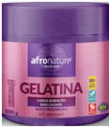 Gelatina Afro Nature Definição dos Cabelos Cacheados e Crespos All Nature