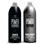 Kit Power Repair Shampoo e Condicionador 1000ml Indicado Cabelos Danificados e Quimicamente Tratados