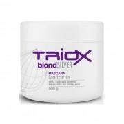 Máscara Blond Silver  Matizante Para Cabelos Loiros, Mechados e Grisalhos 500g  Triox