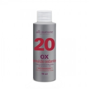 Oxidante Creme 90ml Nature Color All Nature  Estabilizado com fórmula suave que age em conjunto com a coloração garantindo o tom desejado - (10, 20, 30 e 40 Volumes) Escolha no Ato da Compra