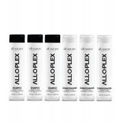 Shampoo e Condicionador Alloplex Para Cabelos Descoloridos Com Mechas, Loiros e Tintos 6 Unids A escolher
