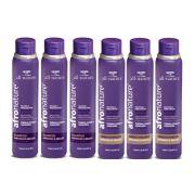 Shampoo e Condicionador Amêndoas e Abacate 300ml - All Nature Para Cabelos Secos , Ressecados, Cacheados, Crespos, e Afros - 6 unids a escolher