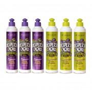 Shampoo e Condicionador Cachos Perfeitos Desperta Cachos 310ml 6 Unids. A Escolher