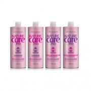 Shampoo Nature Care e Condicionador Com Argan e Macadâmia 1000ml  All Nature 4 unids