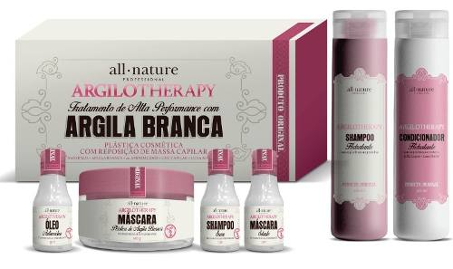 Argilotherapy Mini Kit + Shampoo E Condicionador All Nature
