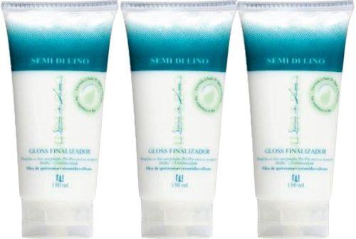 Gloss Semi Di Lino Leave-in Pré Escova 150ml All Nature 3und