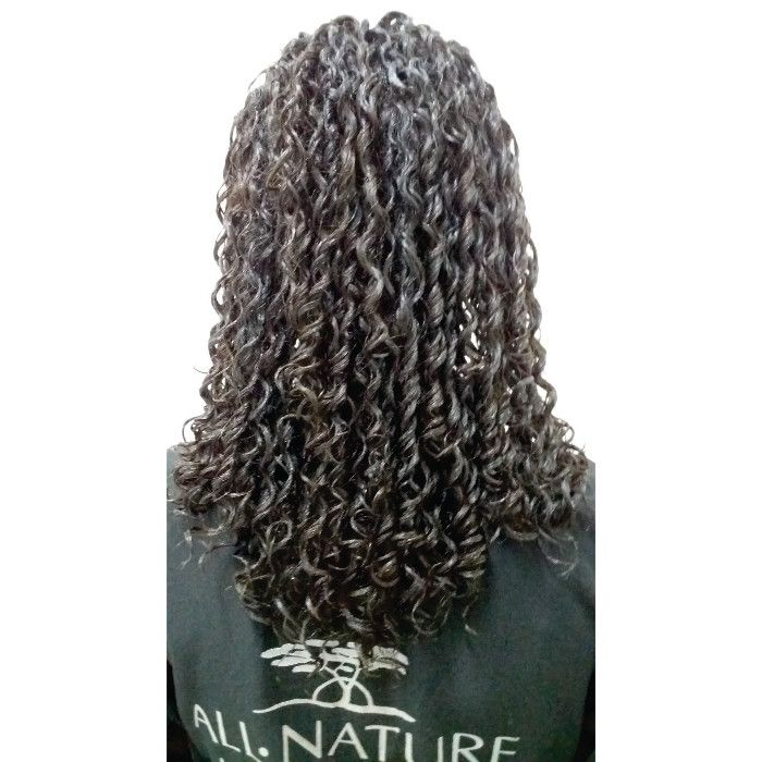 Afro Permanente Profissional + Ativador de Cachos Afro nature - All Nature