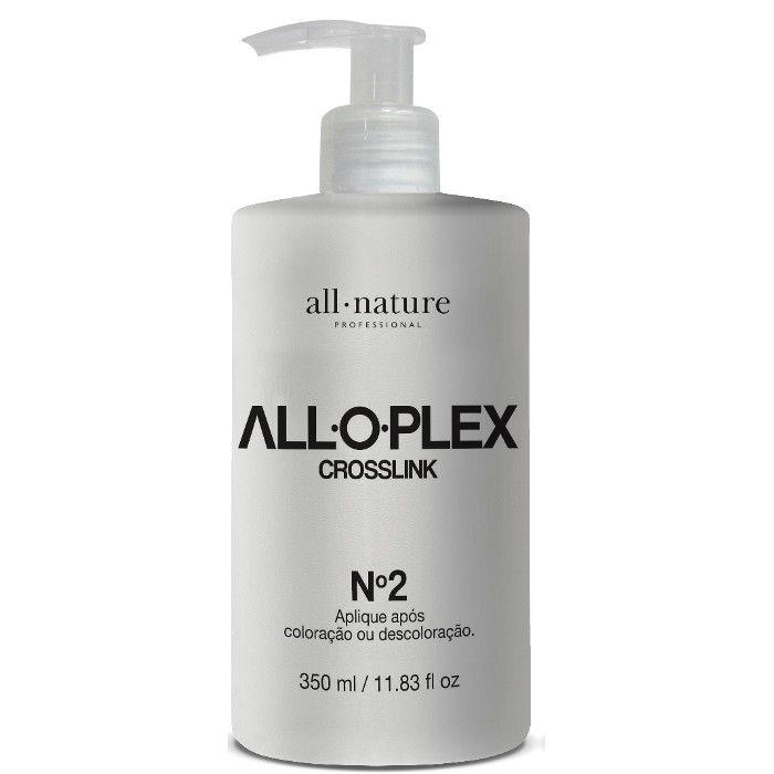 Alloplex Croslink Passo 2 e Alloplex Absolut Perfect Passo 3 Aloplex  Para Cabelos Loiros, Descolorido e Tintos All Nature