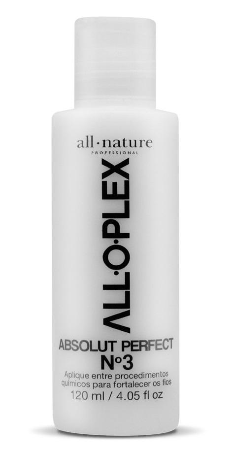 Alloplex Passo 3 Absolut Perfect 120 ml  Tratamento Para Cabelos que Passaram Descoloração Tinturas e Outros Procedimentos Químicos