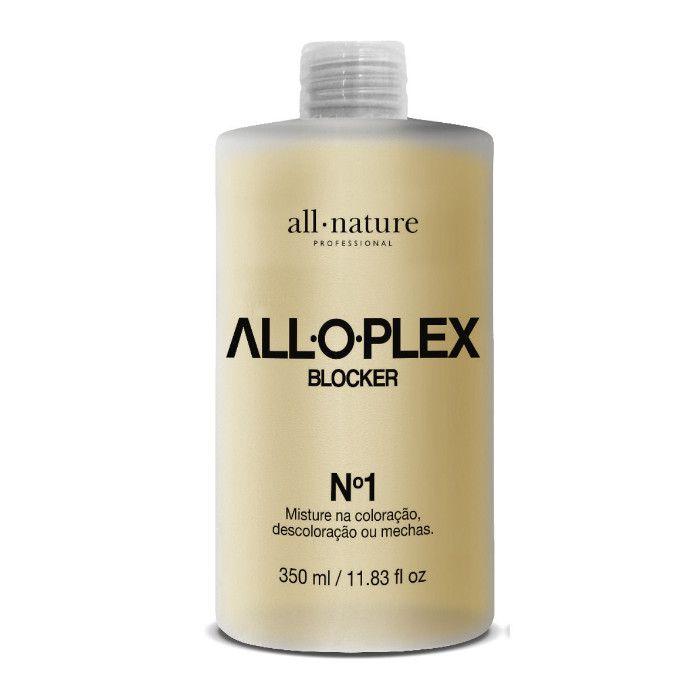Aloplex Blocker Bloqueador de Danos Nas Descolorações Mechas e Colorações All Nature Passo nº 1 350ml