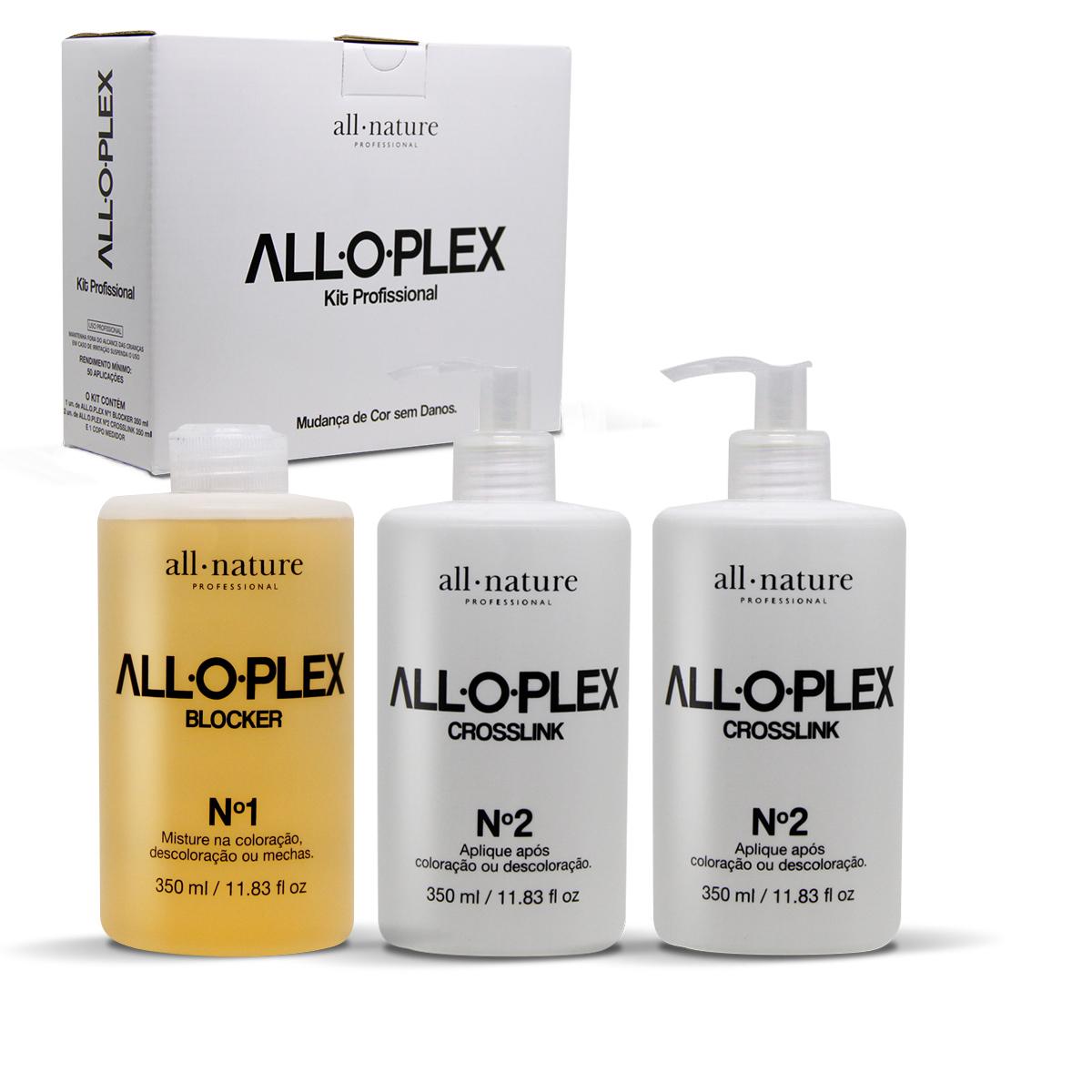 Aloplex Blocker Bloqueador de Danos Nas Descolorações Mechas, Luzes, Colorações e Demais Químicas - All Nature