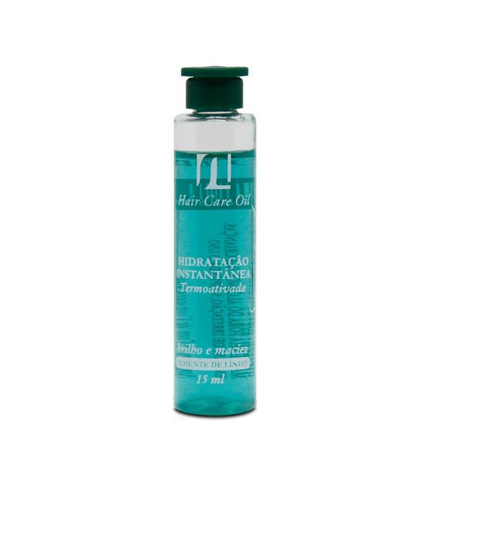 Ampola de Hidratação Semi Di Lino  Hair Care Oil  All Nature Alto Brilho Maciez e Sedosidade em 5 Minutos  ampolas 15ml