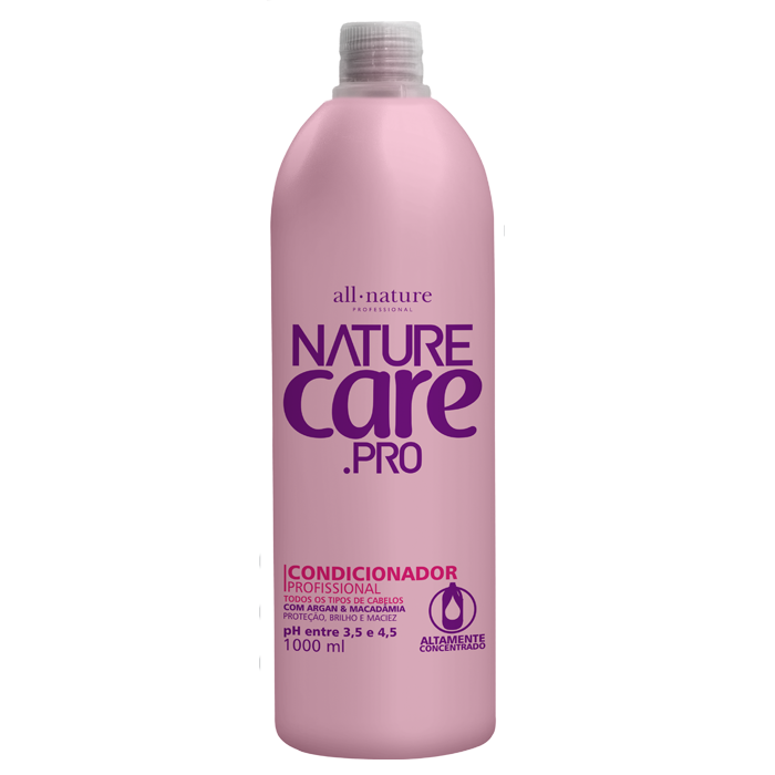 Condicionador Nature Care Pro  Fórmula Balanceada 1000ml   All Nature