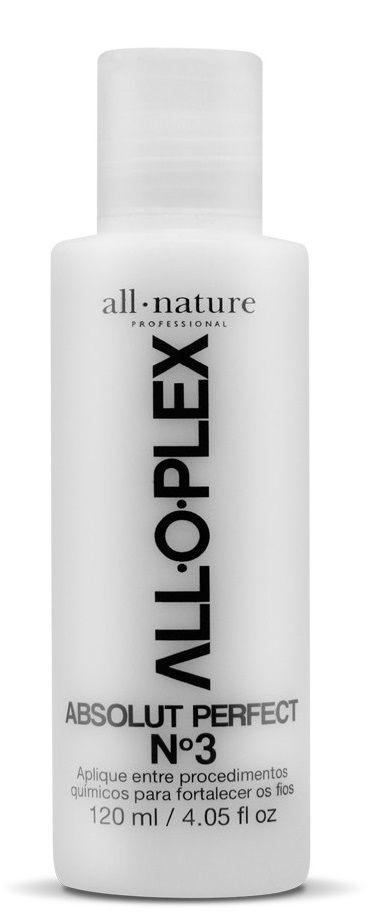 Descoloração e Coloração: Alloplex Blocker Bloqueador de Danos Nas Colorações Descolorações e Mechas - Mini Ki + Alloplex Passo 3 Absolut Perfect 120 ml -  All Nature - Mini Ki