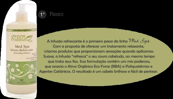 Infusão Refrescante Med Spa 500ml
