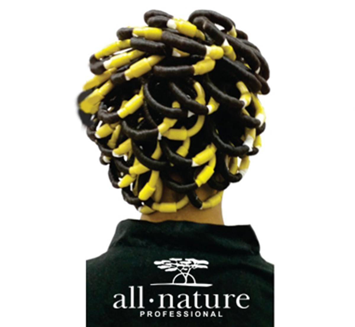 Kit de Produtos Para Permanente Afro e Relaxamento Capilar Afro Nature - All Nature