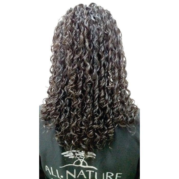 Afro Permanente e Relaxamento Capilar Profissional Afro Nature +Ativador de cachos Hidratante Super 1000ml - All Nature