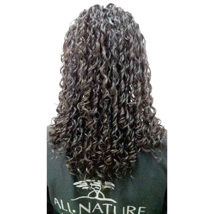 Kit Permanente Afro e Relaxamento Capilar All Nature Profissional