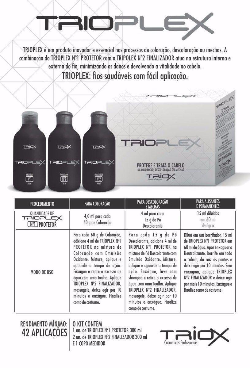 Kit Trioplex Descoloração Sem Danos - Triox