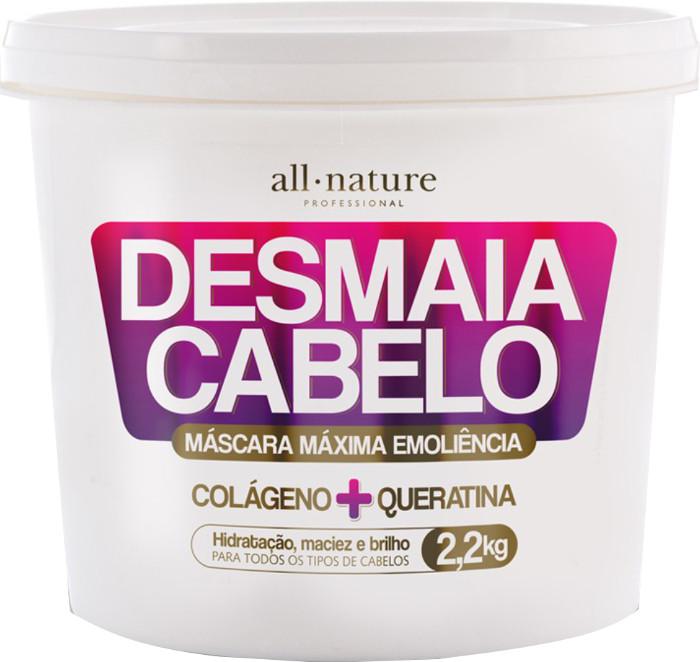Máscara Desmaia Cabelo All Nature 2.2 Kg  Colágeno + Queratina