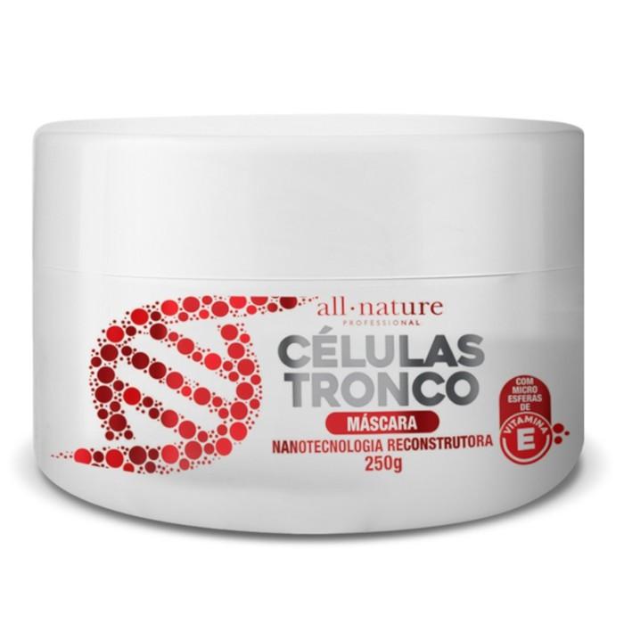 Máscara Intensiva Afro 500g e Máscara de Celulas Tronco  250g  All Nature