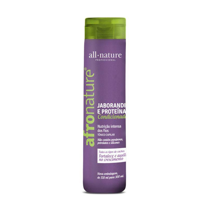 Máscara Intensiva Afro Nature 500g + Óleo Umectante + Shampoo e Condicionador Jaborandi 300ml - All Nature