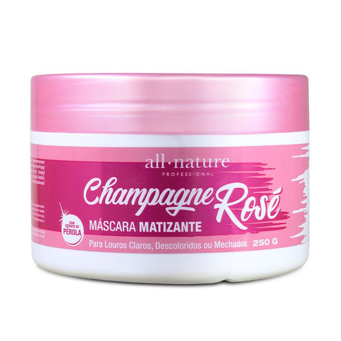 Máscara Matizante Champagne Rosé