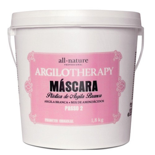Máscara Plástica Argilotherapy 1800gr All Nature