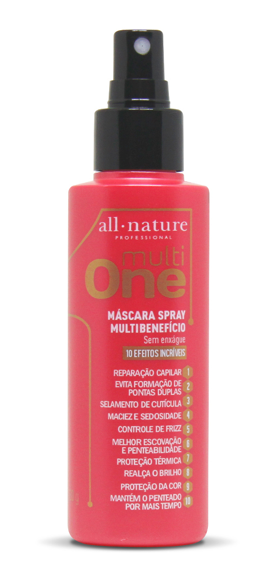 Multi One Máscara Spray Multibenefício All Nature 120g