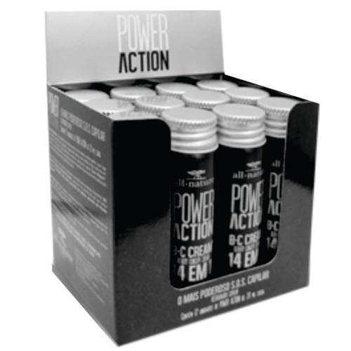 Power Action SOS Capilar  All Nature  Com B C CREAM Beauty Concept Cream Poderoso Restaurador Capilar 14 Benefícios Com Um Único Produto