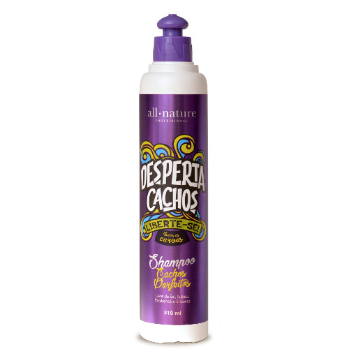 Shampoo Cachos Perfeitos Desperta Cachos 310ml All Nature