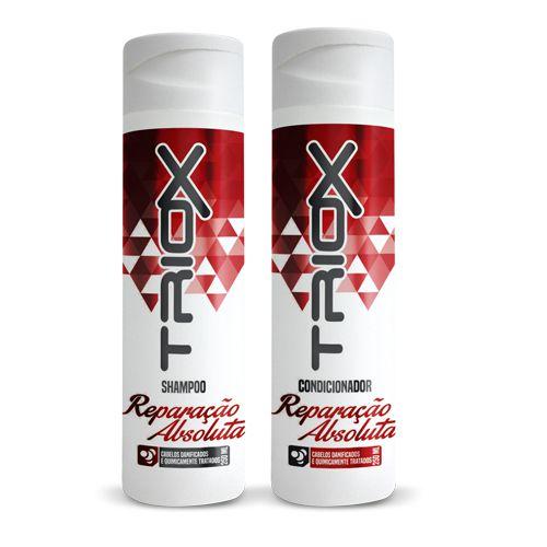 Shampoo e Condicionador Reparação Absoluta Triox 310ml