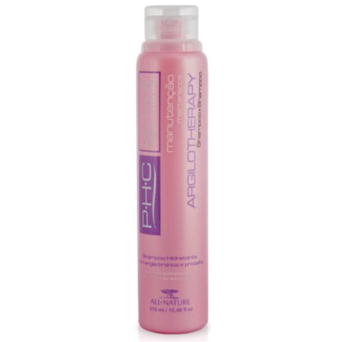 Shampoo Hidratante Argilotherapy 310ml All Nature Argila Branca e Proteínas