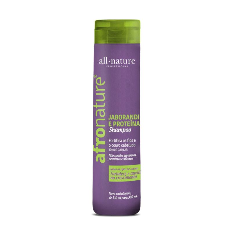 Shampoo Jaborandi 2 + 1 Condicionador + 1 Máscara Intensiva  500g All Nature