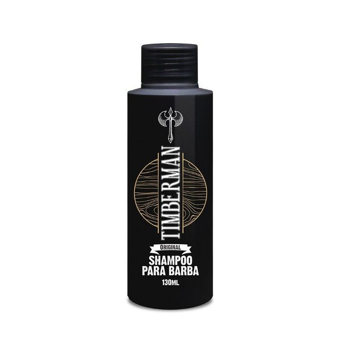 Shampoo Para Barba Timberman 130ml