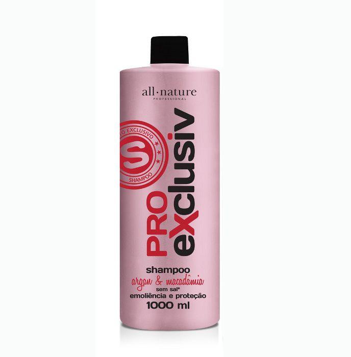 Shampoo Pro Exclusiv All Nature, Tratamento, Força e Nutrição