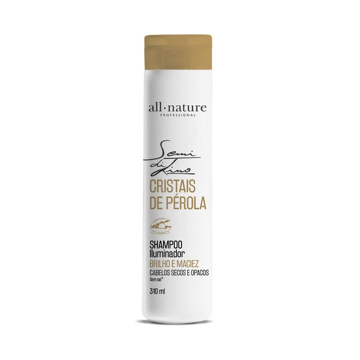 Shampoo Semi Di Lino Cristais de Perola 310ml